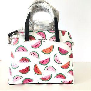Kate Spade Maise Medium Dome Satchel Watermelon
